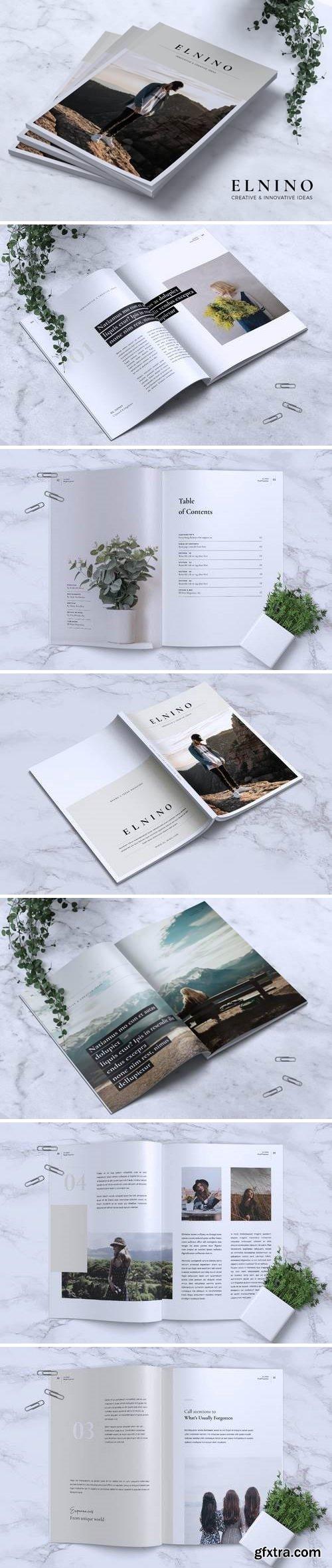 ELNINO Minimal Magazine