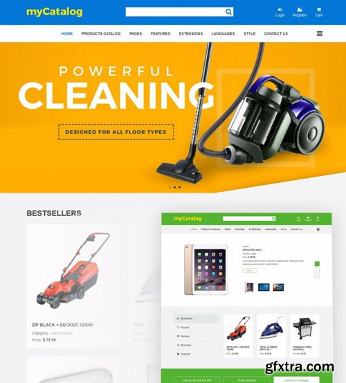 Joomla-Monster - JM Product Catalog v1.11 - eCommerce Joomla Template