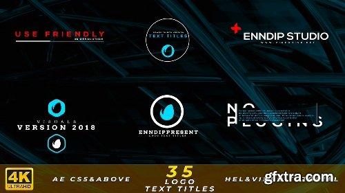 Videohive Logo Text Titles 4K 21344243