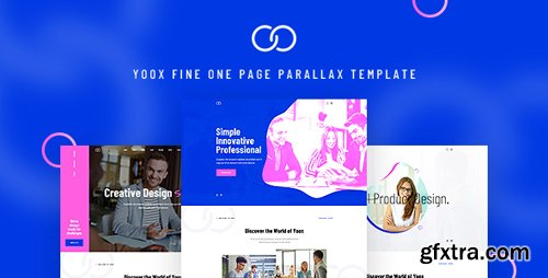 ThemeForest - Yoox v1.0 - Fine One Page Parallax PSD Template - 22800336