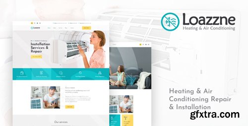 ThemeForest - Loazzne v1.0 - Heating & Air Conditioning Repair & Installation Services PSD Template - 22863179