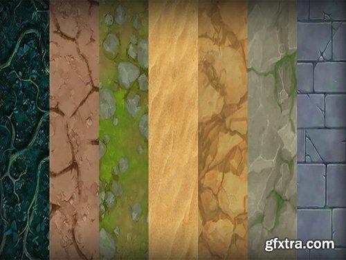Cartoon Terrain Textures