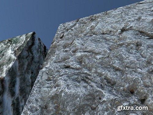 HQ PBR Rock Materials