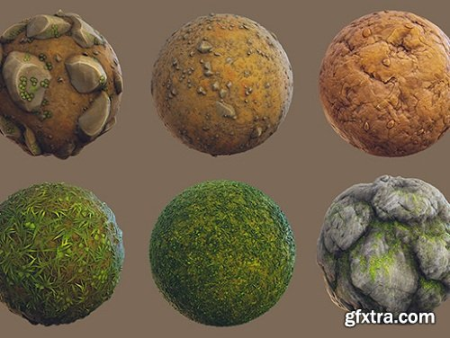 Stylized Forest Materials