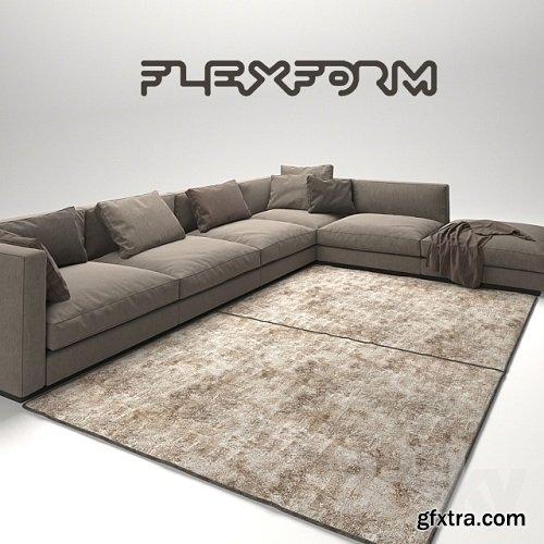 Flexform Pleasure 3
