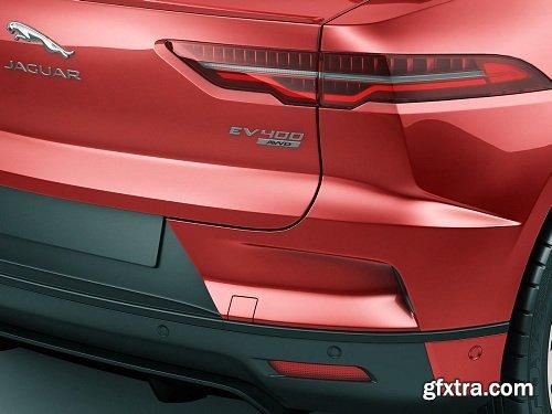 Jaguar I-Pace 2019 3D model