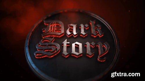 MotionArray 3D Dark Logo Reveal 114288