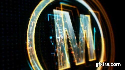 MotionArray Sci-Fi Logo Reveal 117291