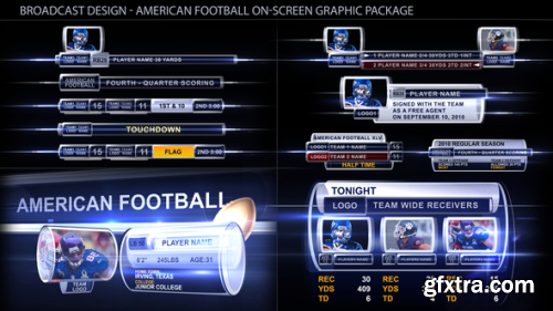 VideoHive Broadcast Design - Sport on-screen graphic package 140314