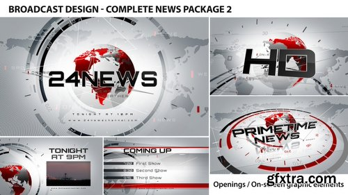 Videohive Broadcast Design - Complete News Package 2 2452976