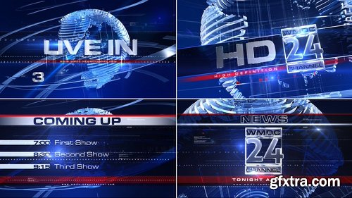 Videohive Broadcast Design - Complete News Package 1 1478695