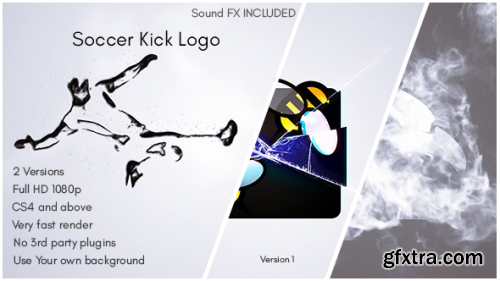 VideoHive Soccer Kick Logo 16152662
