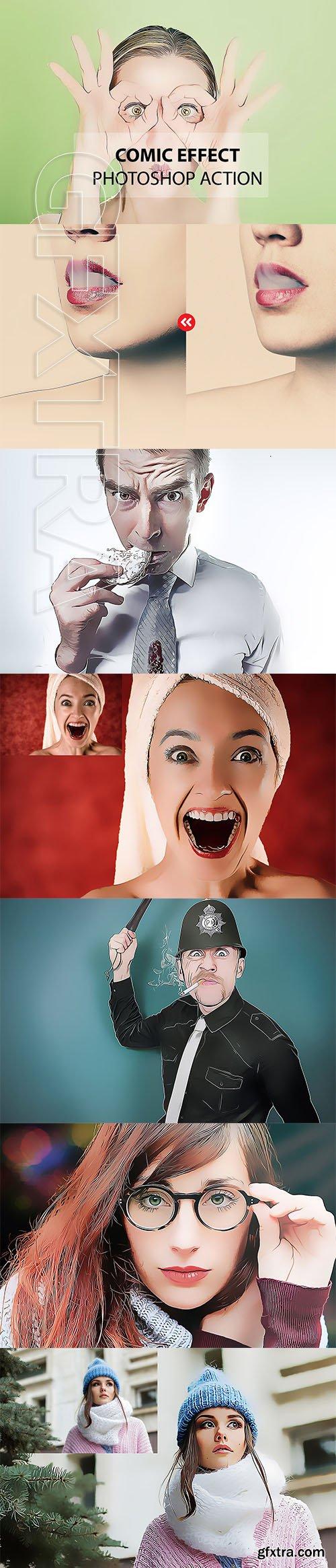 CreativeMarket - Comic Effect - Photoshop Action 3169035