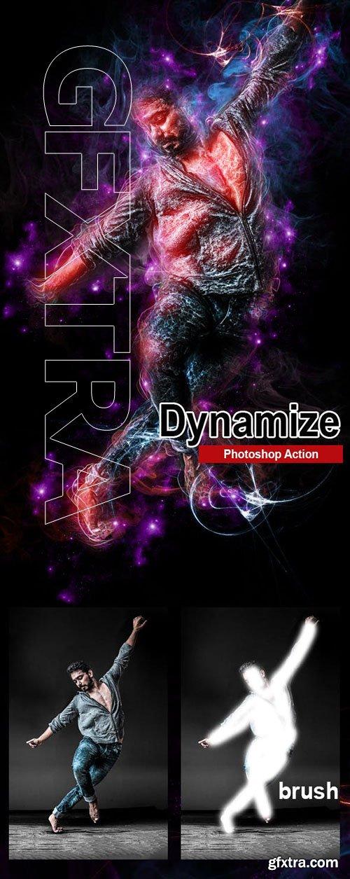 GraphicRiver - Amazing Dynamize Photoshop Action 23262559