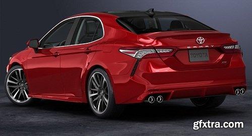 3D 2018 Toyota Camry
