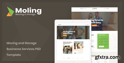 ThemeForest - Moling v1.0 - Moving and Storage Business Services PSD Template - 23148551