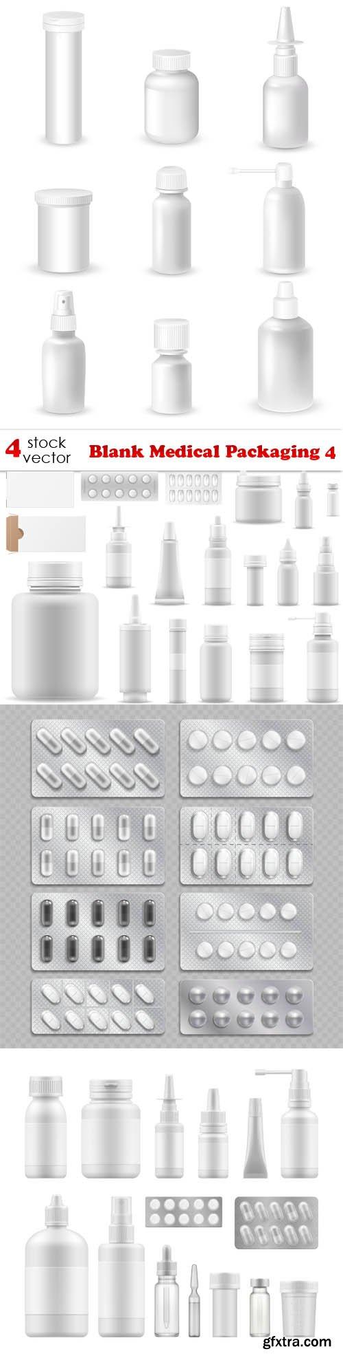 Vectors - Blank Medical Packaging 4