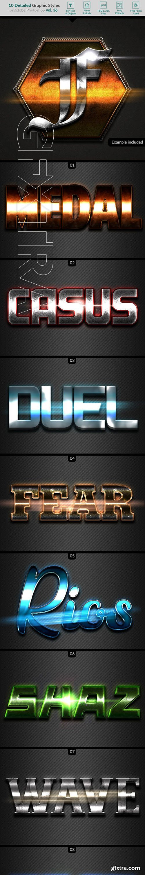 GraphicRiver - 10 Text Effects Vol36 23263710
