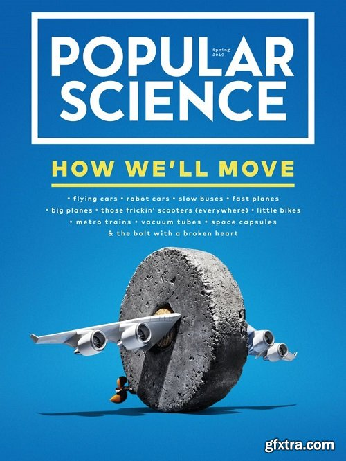 Popular Science USA - February/March 2019