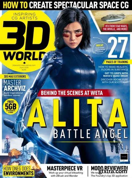 3D World UK - April 2019