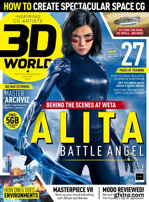 3D World UK - April 2019 (True PDF)