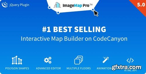 CodeCanyon - Image Map Pro v5.0 - jQuery SVG Map Builder - 2792438