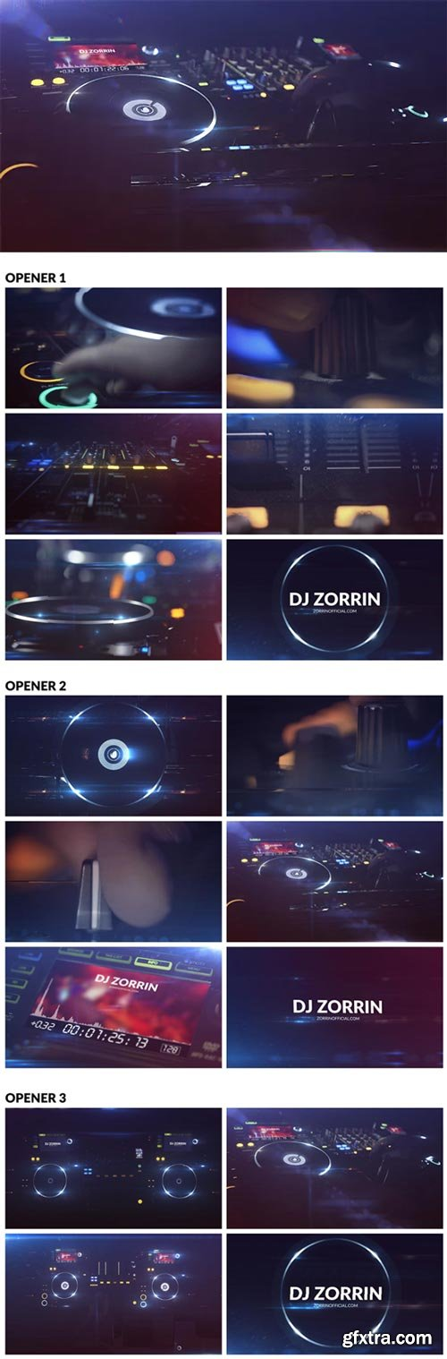 Videohive - DJ // Night Club Logos - 20109122