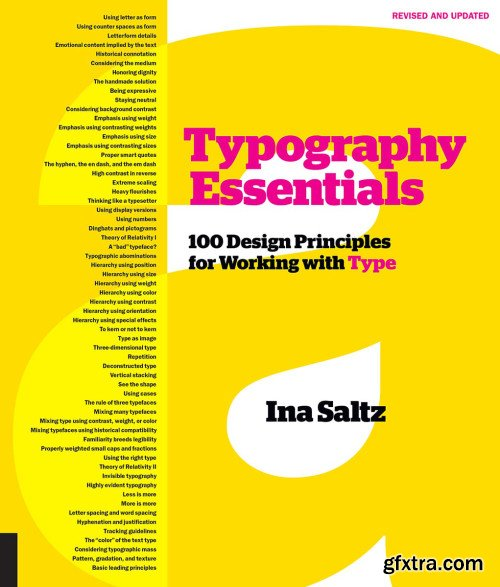 Typography Essentials: 100 Design Principles for Working with Type, Revised Edition