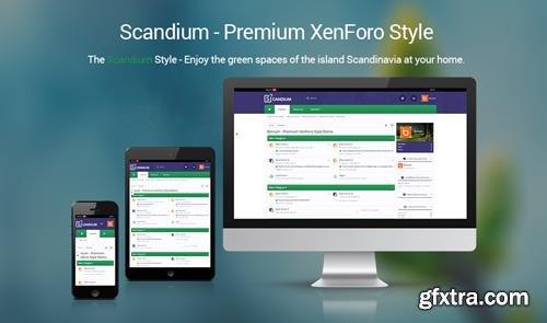 Brivium - Scandium v2.0.10 - XenForo 2 Style