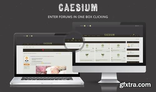 Brivium - Caesium v2.0.10 - XenForo 2 Style