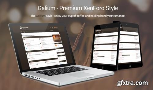 Brivium - Gallium v2.0.10 - XenForo 2 Style
