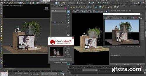 MaxToMaya v2.0a for Maya 2014-2019