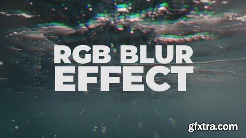 MotionArray RGB Blur Effect 184499