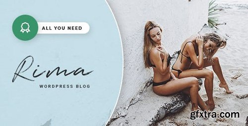 ThemeForest - Rima v1.7.1 - Personal Blog WordPress Theme - 22372485