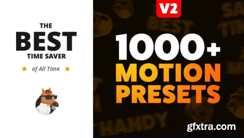 VideoHive The Most Handy Motion Presets for Animation Composer V2 1206312