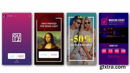 VideoHive Animated Stories Kit // Instagram, Snapchat, Facebook V3 21437547