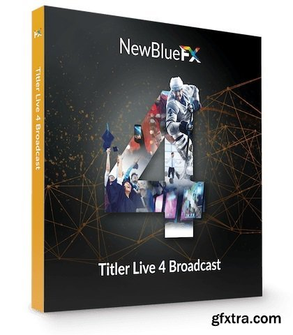 NewBlueFX Titler Live 4 Broadcast 4.0.190221