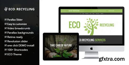 ThemeForest - Eco Recycling v2.0.1 - Ecology & Nature WordPress Theme - 7970296