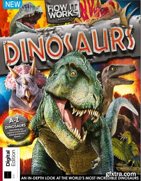 Future\'s Series: How It Works: Book of Dinosaurs 8th Edition, 2019