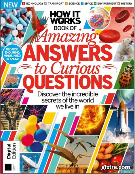 Future\'s Series: How It Works Book of Amazing Answers to Curious Questions 13th Edition, 2019