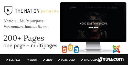 ThemeForest - Nation v1.3 - Multipurpose Virtuemart Joomla Template - 15920743
