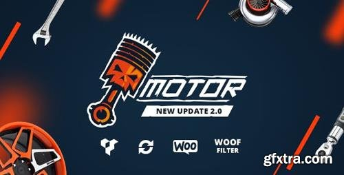 ThemeForest - Motor v2.0 - Vehicles, Parts, Equipments and Accessories WooCommerce Store (Update: 10 February 19) - 16829946