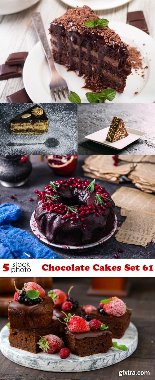 Photos - Chocolate Cakes Set 61
