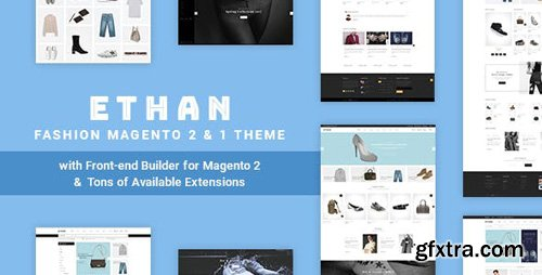 ThemeForest - ETHAN v1.3.8 - Luxury Fashion Magento 2 and 1 Theme - 19804298