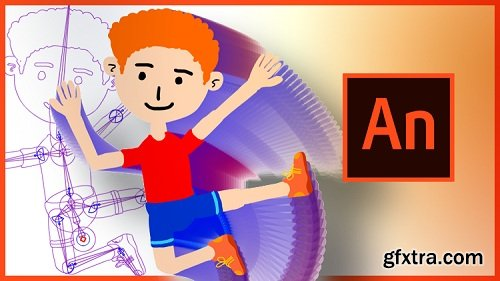 Cartoon Character Rigging and Animation in Adobe Animate CC