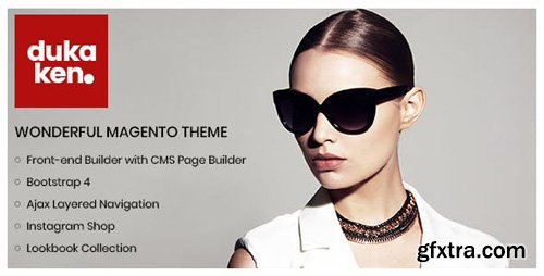 ThemeForest - Dukaken v1.0.4 - Wonderful Magento 2 Theme - 22591241