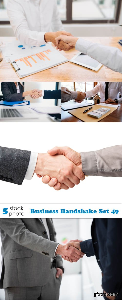 Photos - Business Handshake Set 49