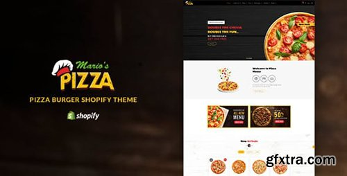 ThemeForest - Marios Pizza v1.1 - Pizza, Burger Restaurant Shopify - 22527548