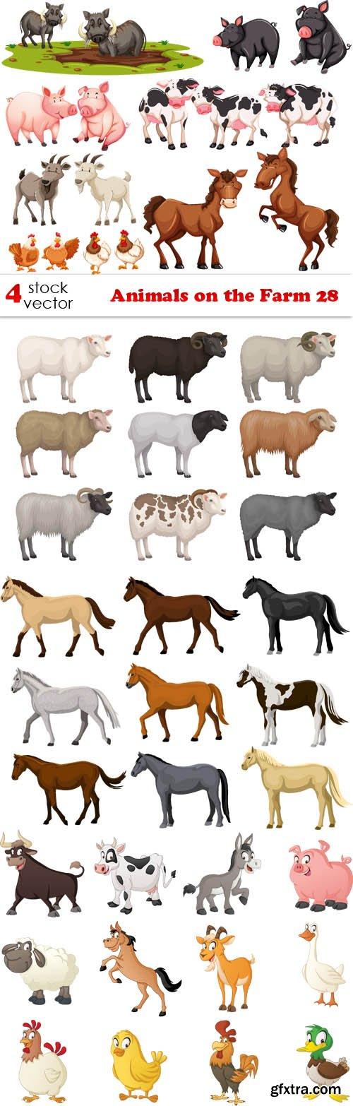 Vectors - Animals on the Farm 28
