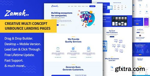 ThemeForest - Zamak v1.0 - Responsive Unbounce Landing Page Template - 22702049